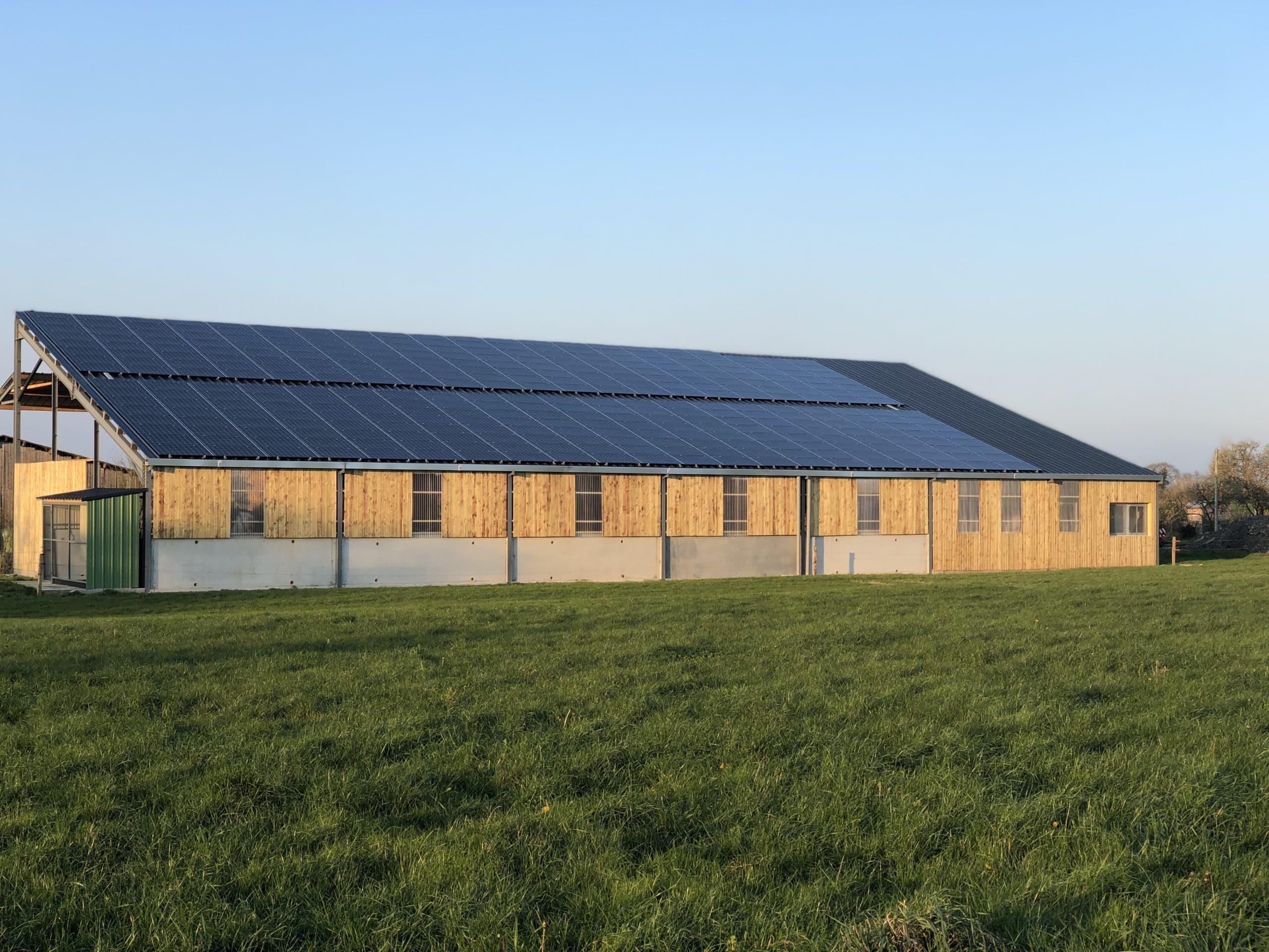 Energies de Loire, bâtiments photovoltaïques