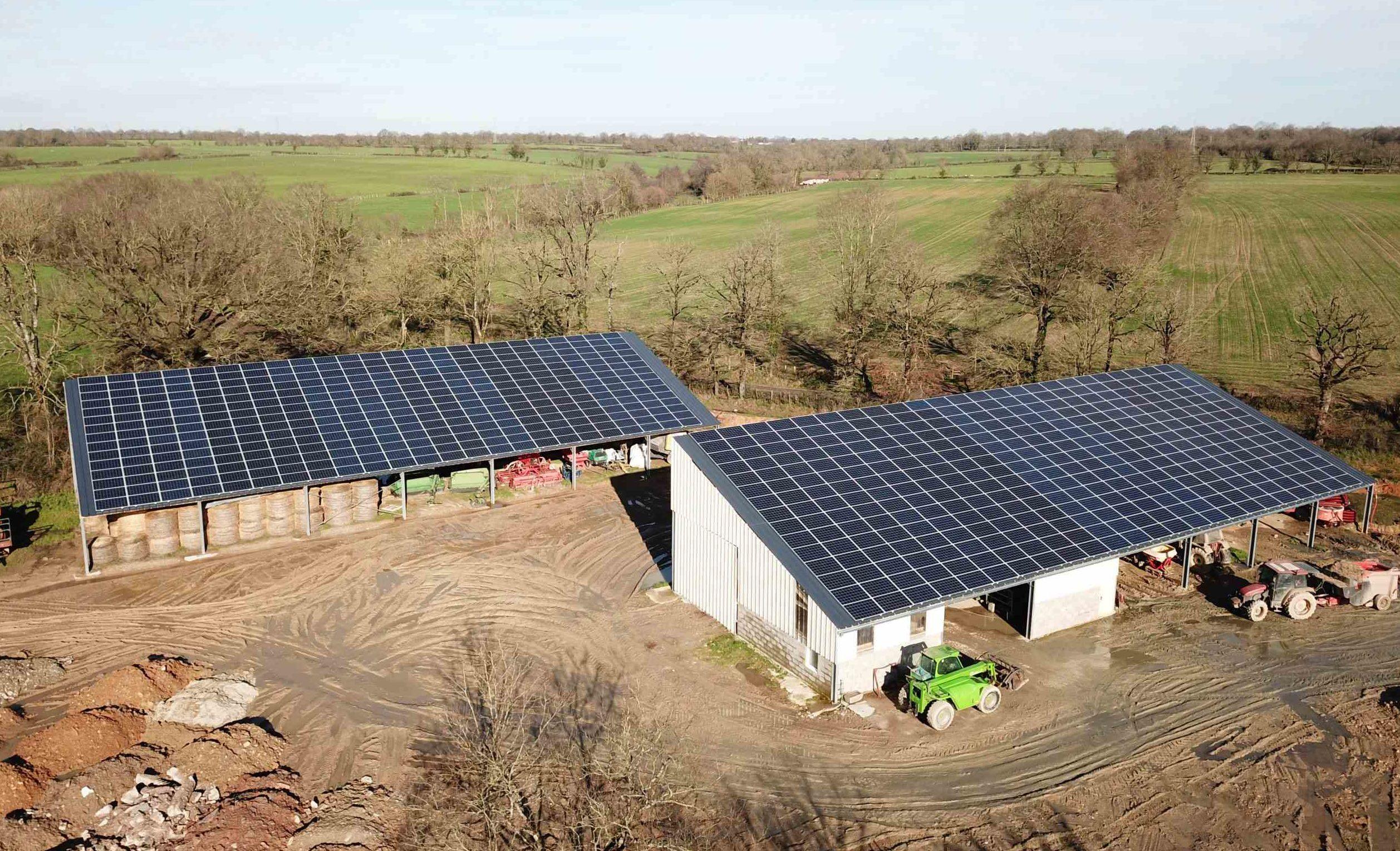batiment photovoltaique stockage