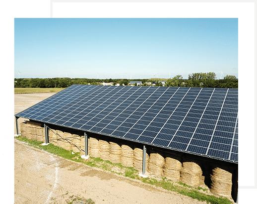 les benefices d'une installation solaire sur un batiment photovoltaique