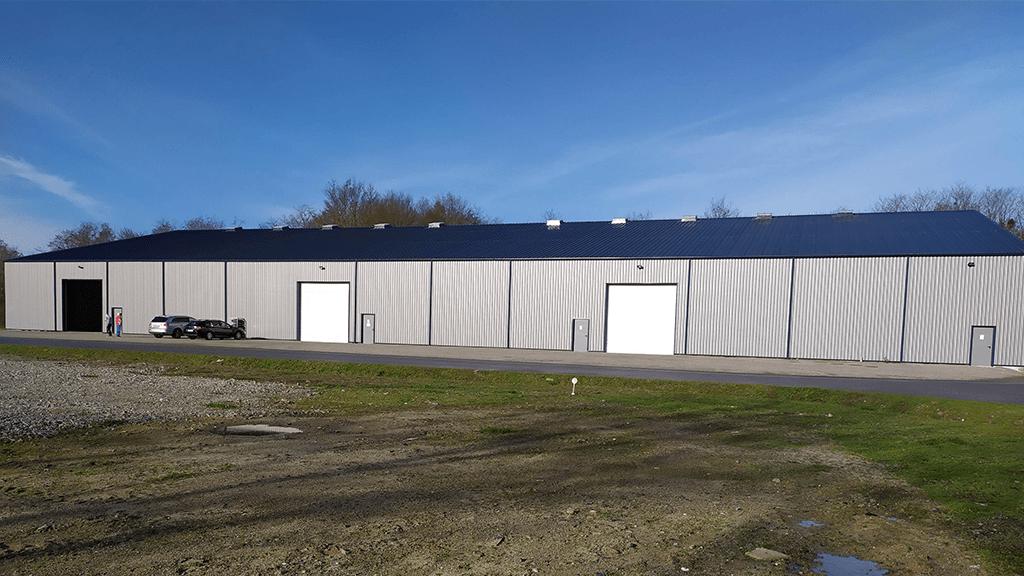 batiment photovoltaique zone industielle