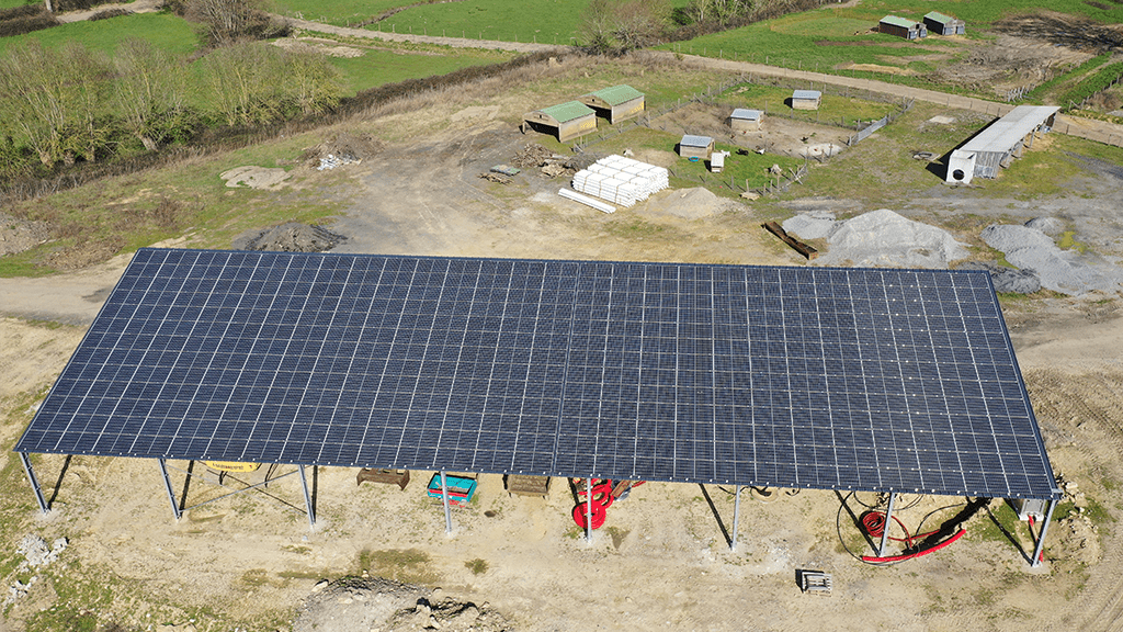 construction batiment photovoltaique