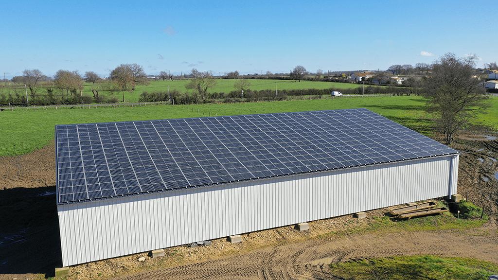 batiment photovoltaique agricole