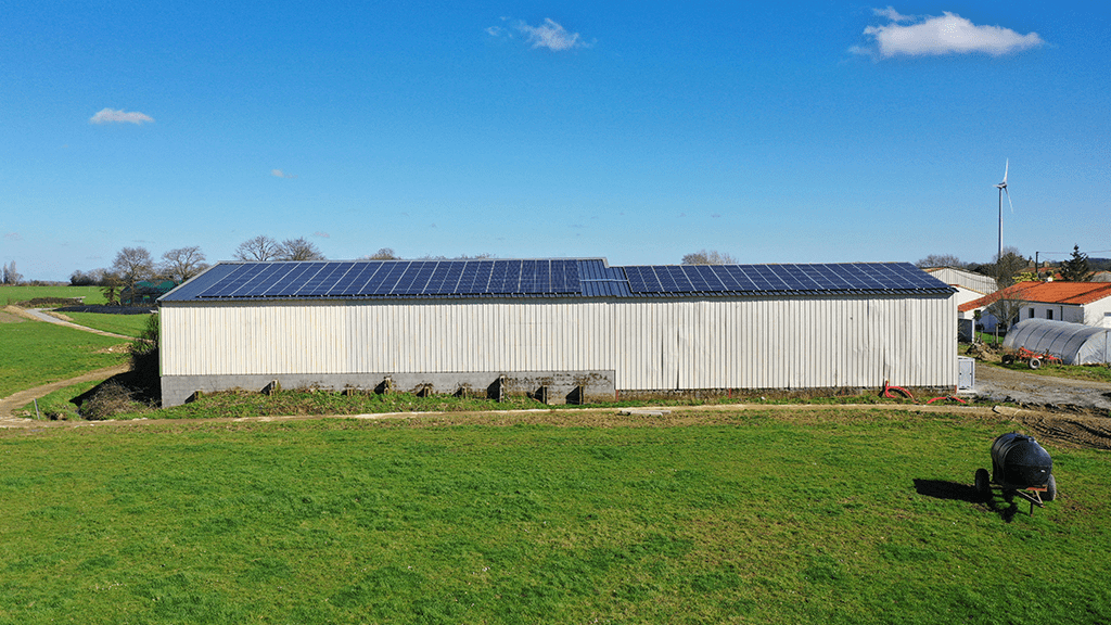 hangar photovoltaique neuf